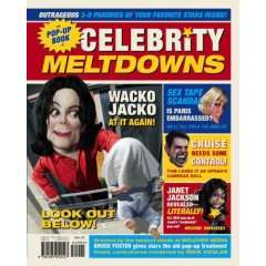 Pop Up Books For Adults: Celebrity Meltdowns Pop Up Book