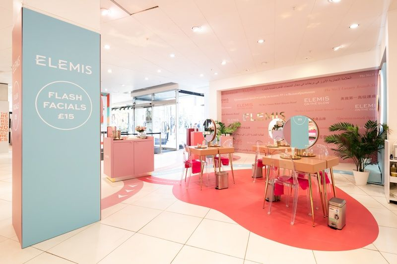 Complimentary Skincare Pop-Ups