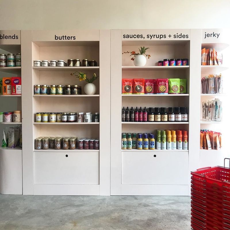 Pop-Up Grocery Shops