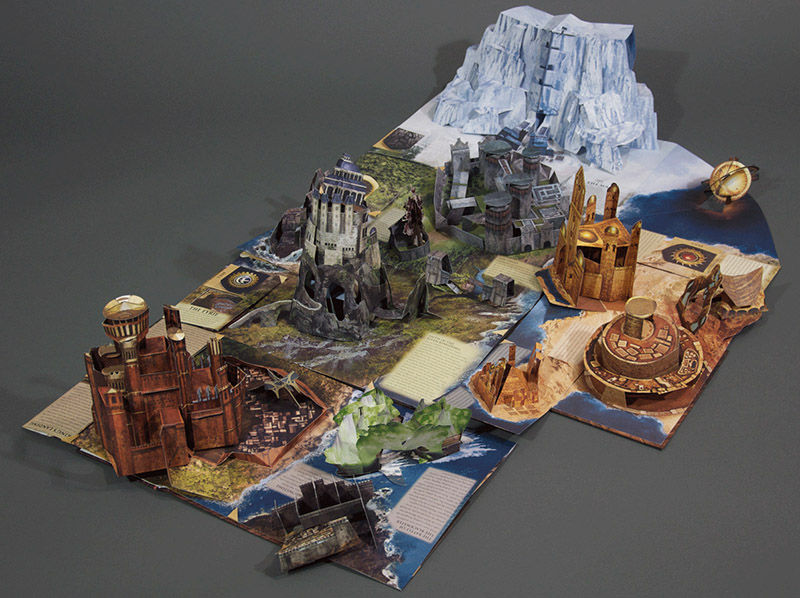 Fantasy World Pop-Up Books