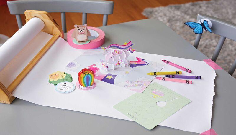 QR-Connected Paper Toys