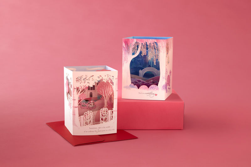 Multidimensional Valentine's Cards