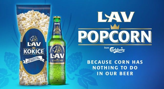 Promotional Beer Popcorn