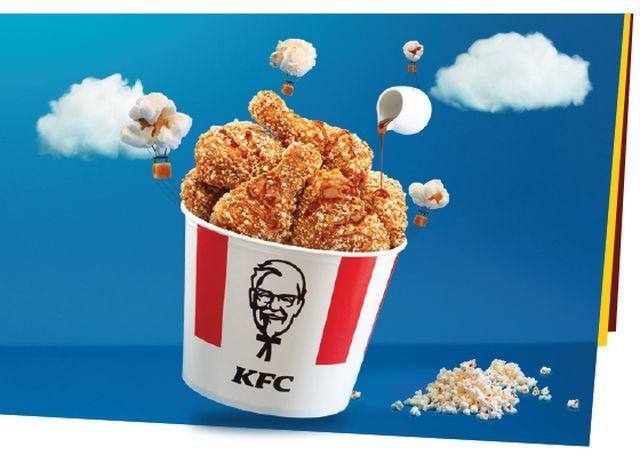 Popcorn-Encrusted Fried Chickens