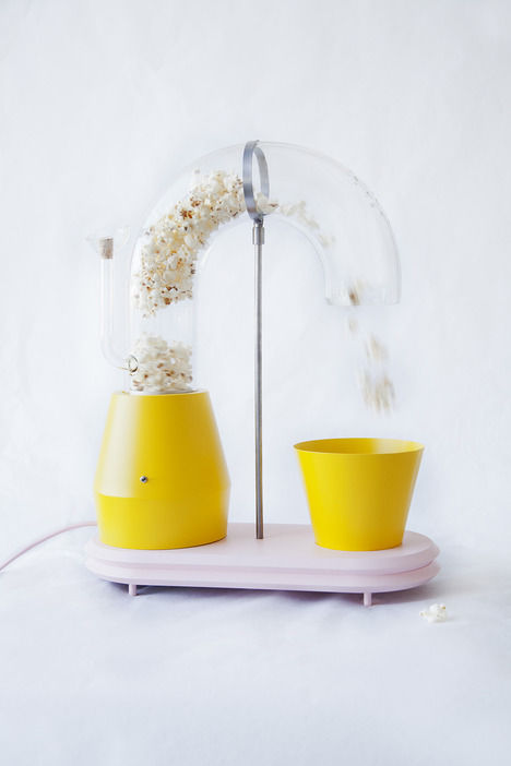 Tubular Popcorn Machines