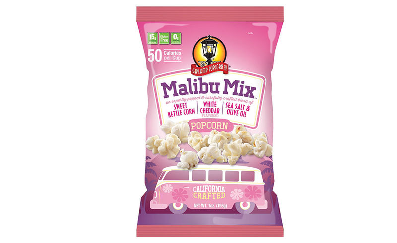 Multiflavored Popcorn Snacks
