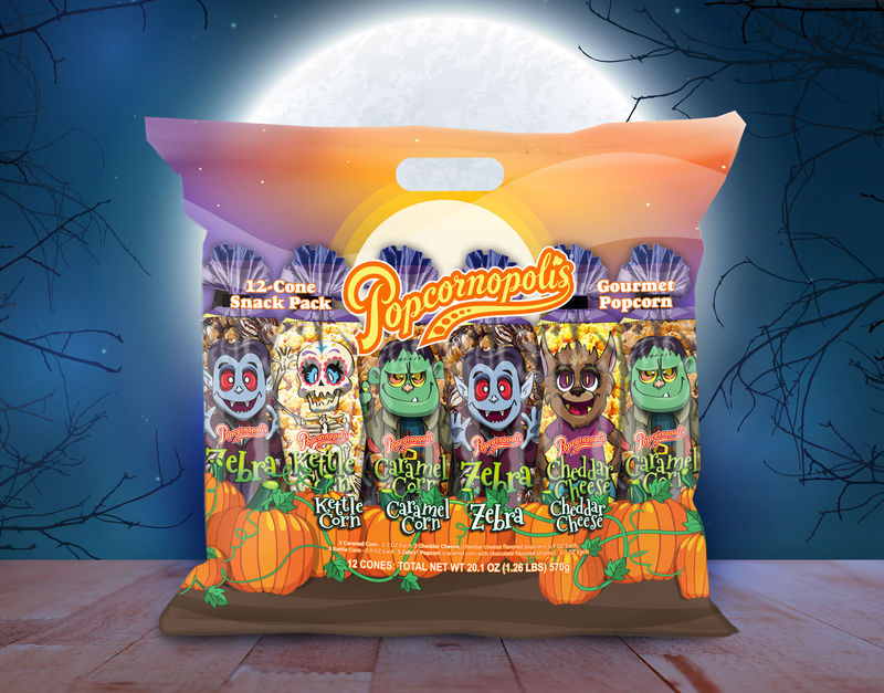 Costumed Popcorn Packs
