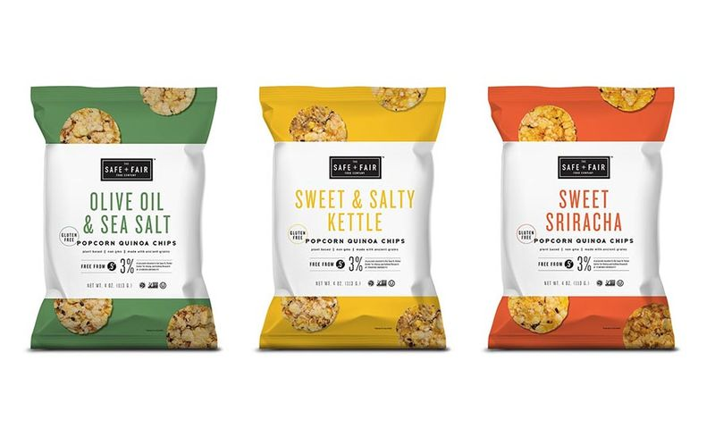Clean Label Quinoa Snacks