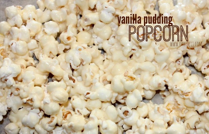 Pudding-Covered Popcorn