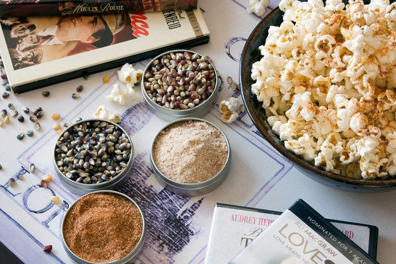 Gourmet Popcorn Garnishes