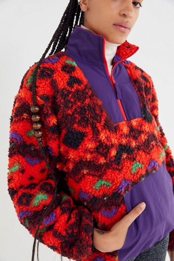 Retro Sherpa Fleece Jackets