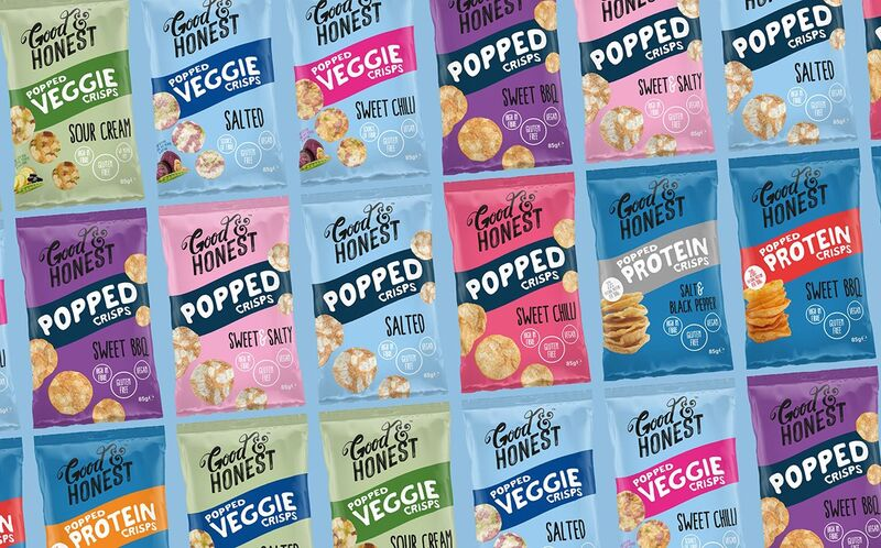 Free-From Popped Snack Ranges