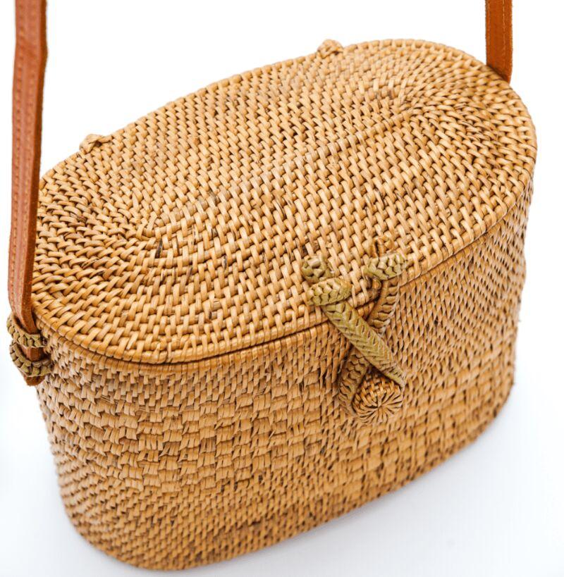 Ethically-Made Woven Handbags