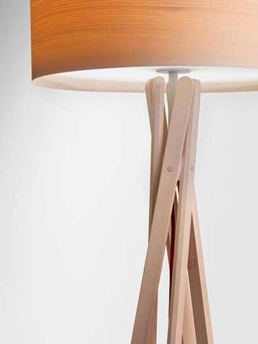 Popsicle Stick Pendant Lights