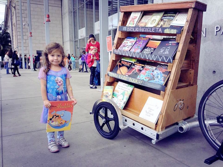 Portable Pop-Up Libraries