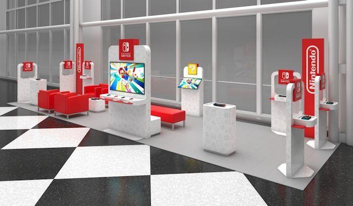 Airport Terminal Gaming Lounges