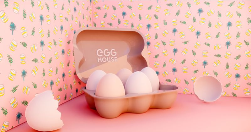 Egg-Themed Pop-Up Museums