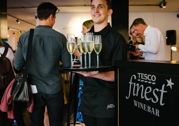 Supermarket Wine Pop-Ups