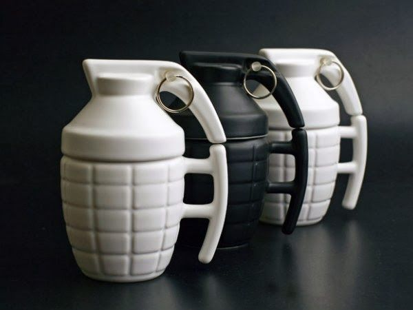 Explosive Mug Designs
