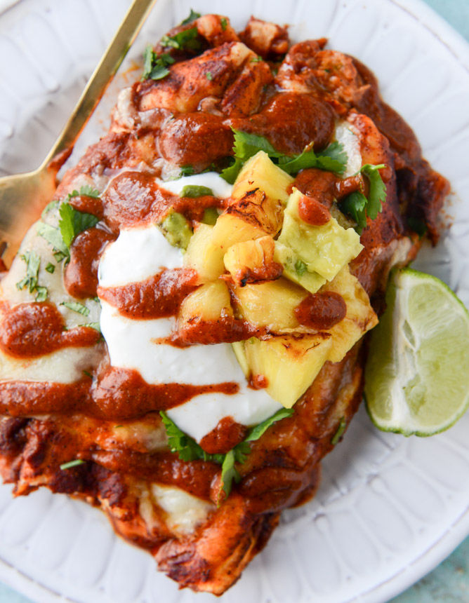 Hawaiian Enchilada Recipes