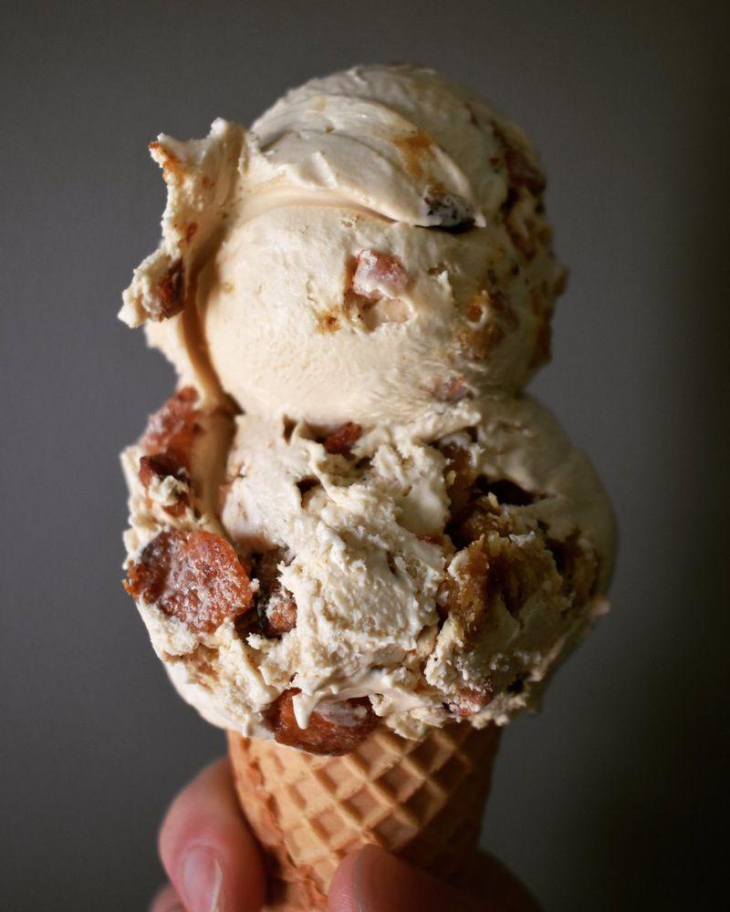 Salty-Sweet Pork Ice Creams