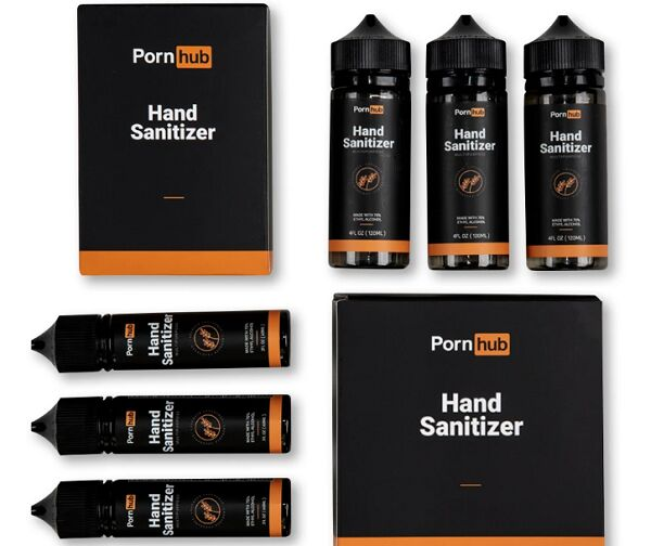 Adult-Branded Hand Sanitizers