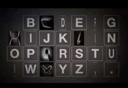 Car-Inspired Letters