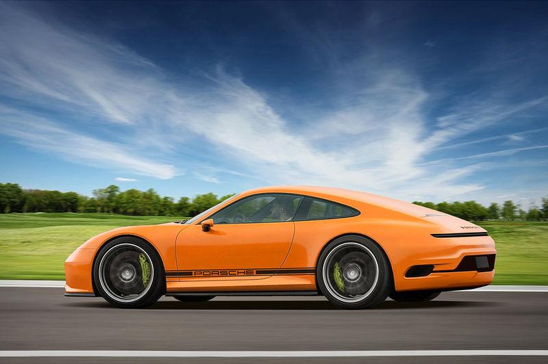 Efficient Electric Sports Cars Porsche 911 Mission E