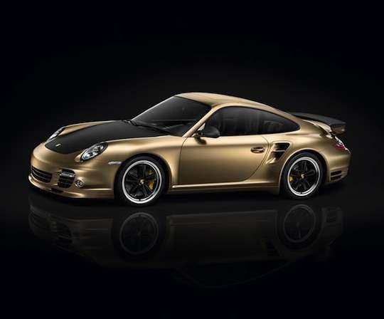 Gold-Plated Luxury Cars