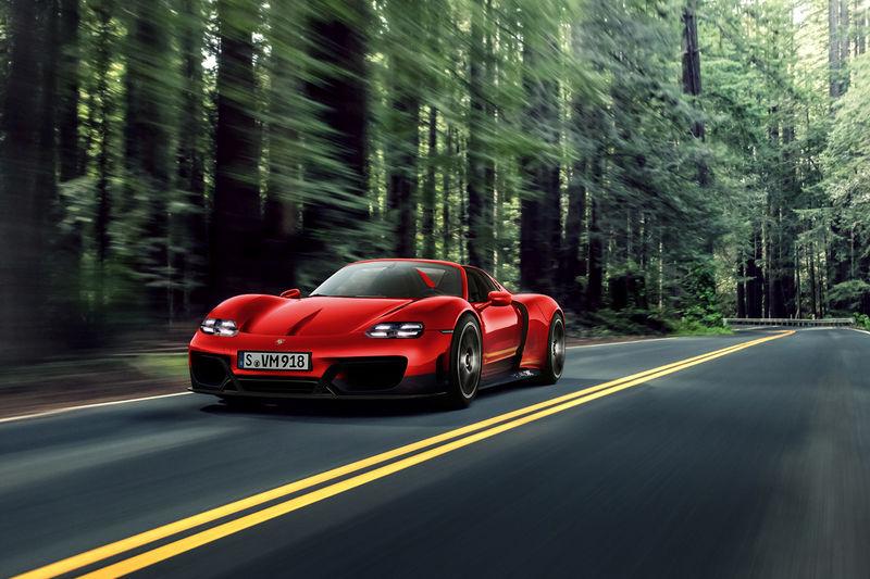 Hybrid Hypercar Successor Concepts