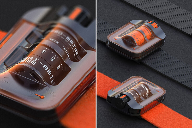Race Car-Inspired Timepieces