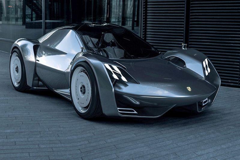 Muscular Carbon Fiber Supercars