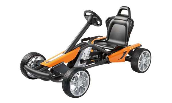 Sleek Luxury Go-Karts