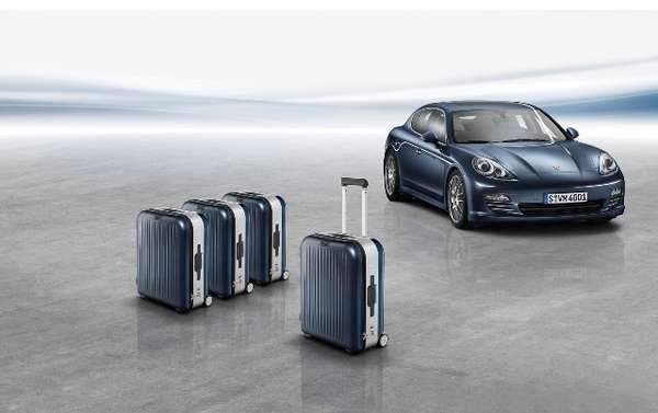Car-Matching Luxury Luggage