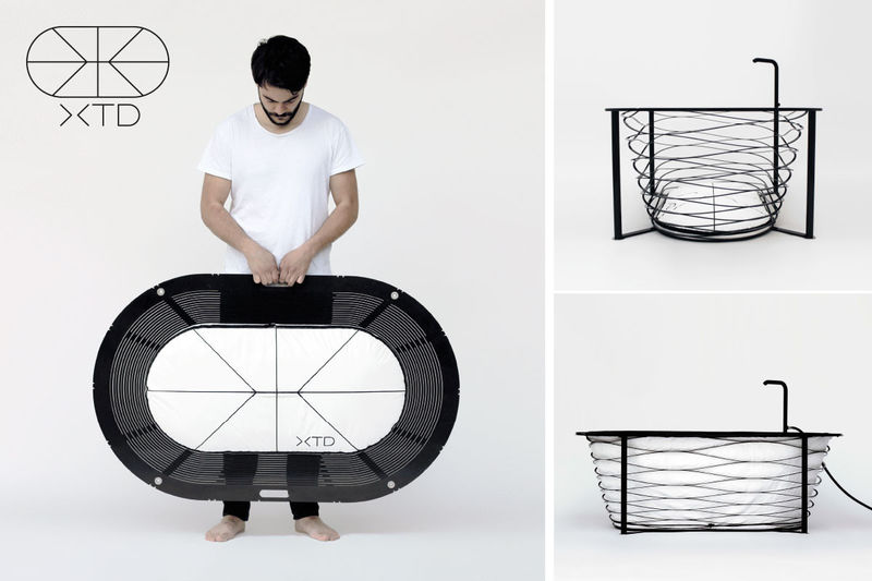Collapsible Bathtubs
