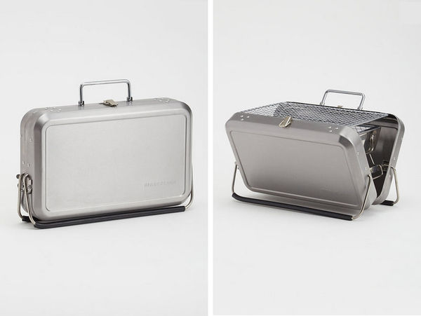 Sleek Barbecue Suitcases