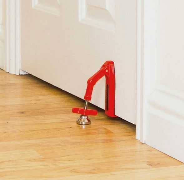 Secure Portable Door Stoppers