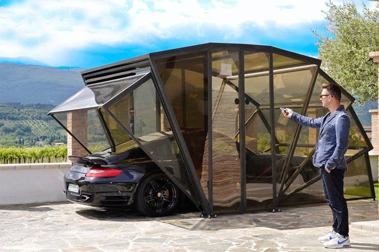 Automated Carports : Portable Garage