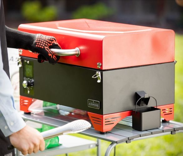Portable Pellet-Powered BBQs