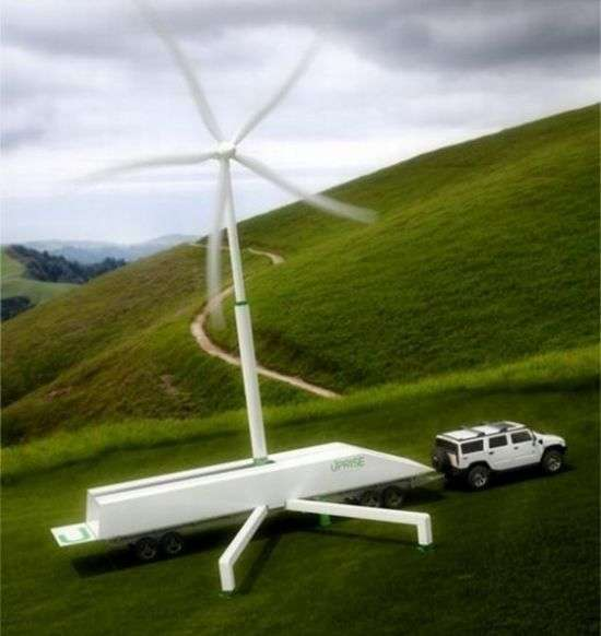 Transportable Wind Turbines
