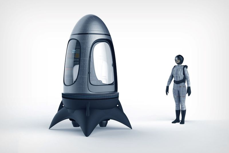 Single-Person Skydiving Pods