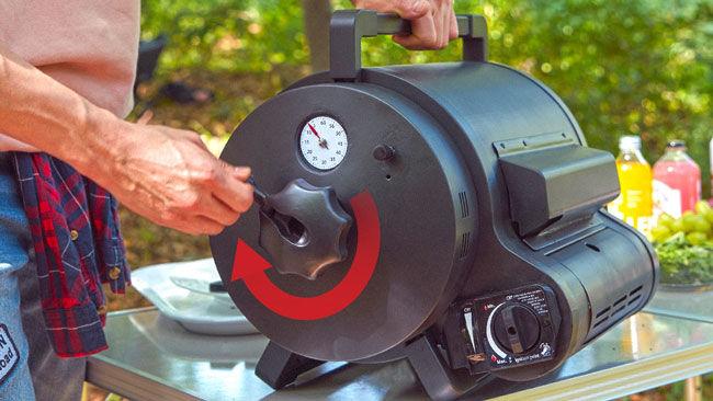 Wind-Up Rotisserie Ovens