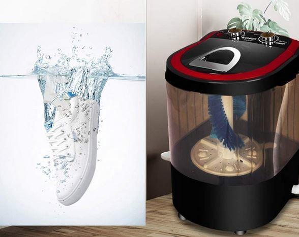 Shoe-Sterilizing Washing Machines