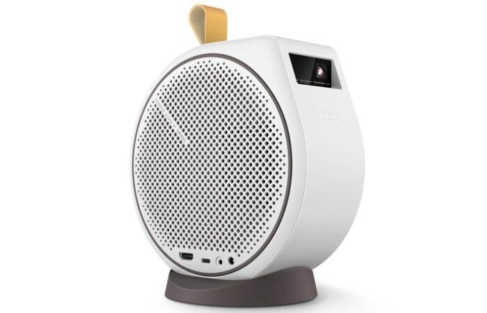 Rounded Portable Connected Projectors