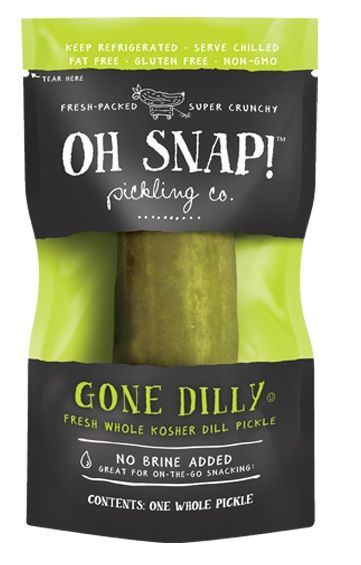 Portable Pickle Snacks