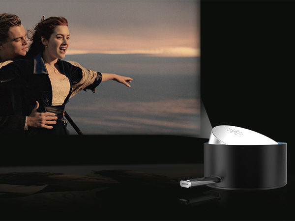 On-the-Go Movie Projectors