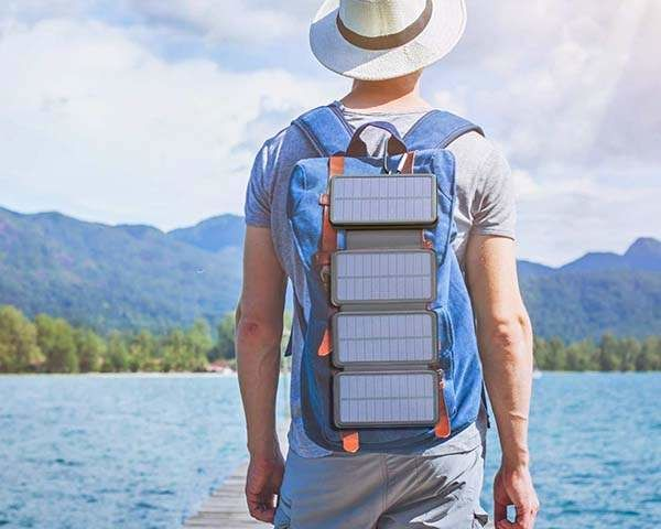 Collapsible Solar Device Chargers