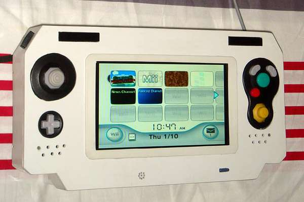 handheld console mods portable wii On wii u portable mod