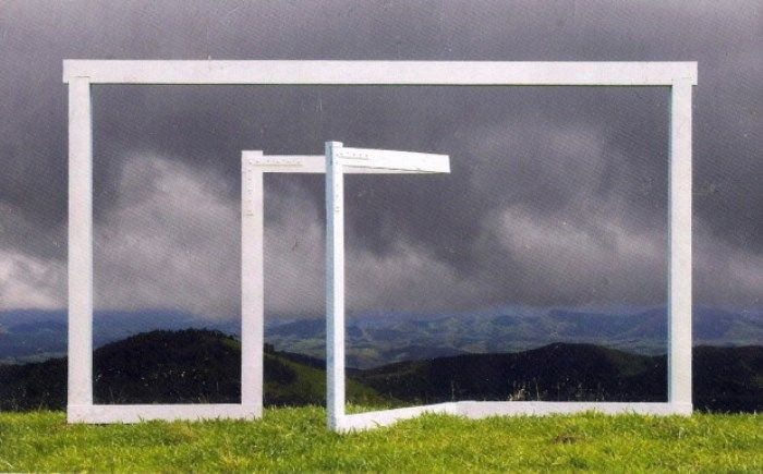 Goal Post-Like Sculptures
