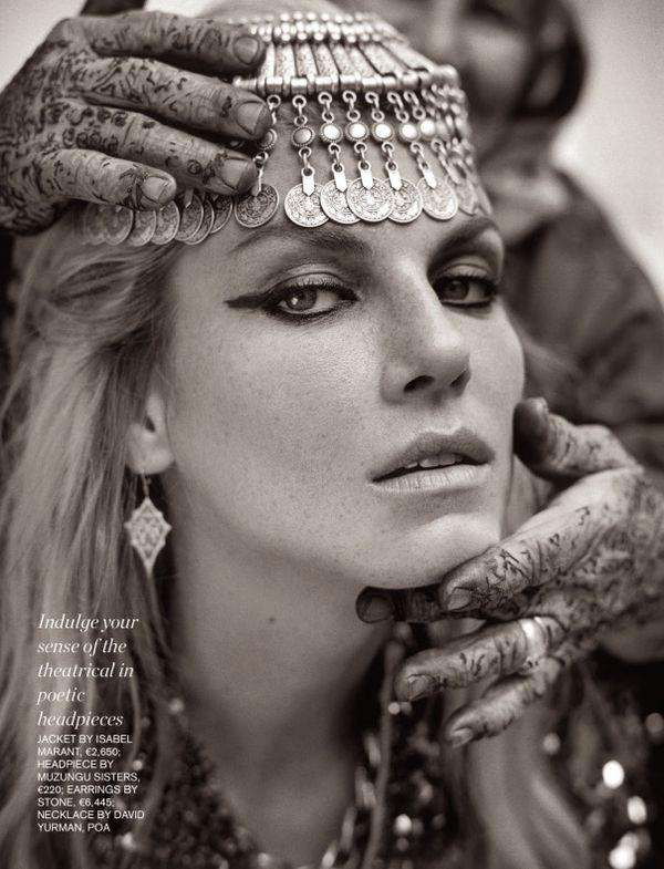 Opulent Tribal Princess Editorials